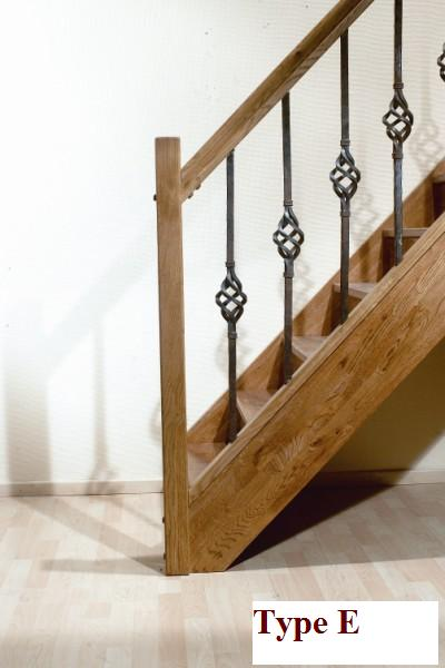 Type hekwerk balustrade en trap leuningen - Balustrade trap ...