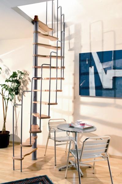 spiltrap voor 180 ruimtebesparende trap